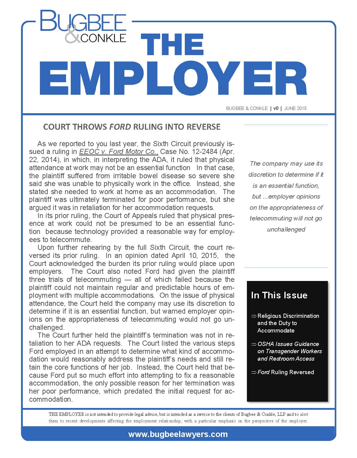 The Employer Vol. 8 No. 3 (06-24-15) klr_Page_1