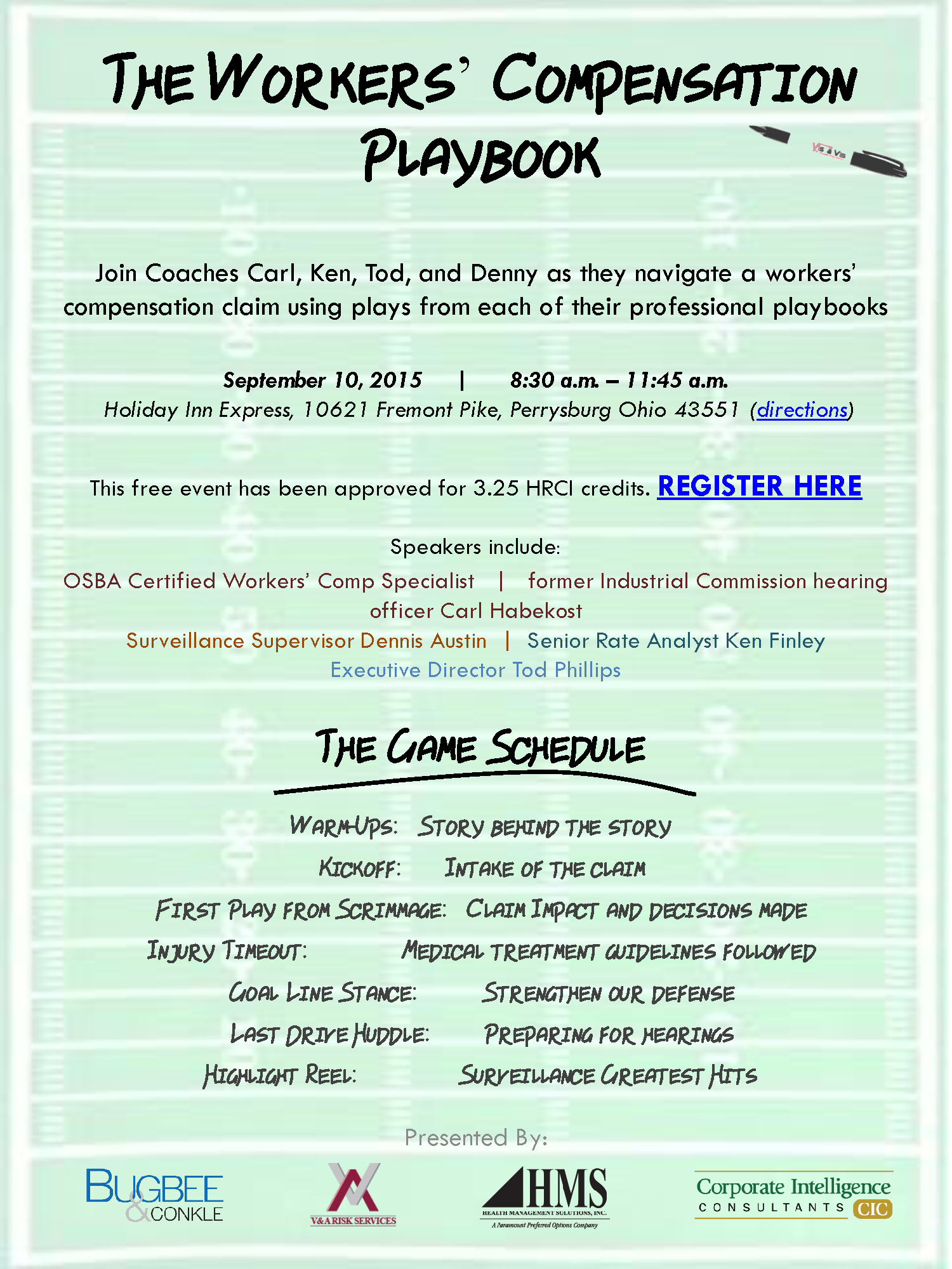 playbook flyer